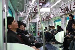 Train activities: naps, socializing, studying