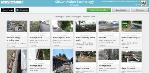 Citizen Action Technology Screenshot