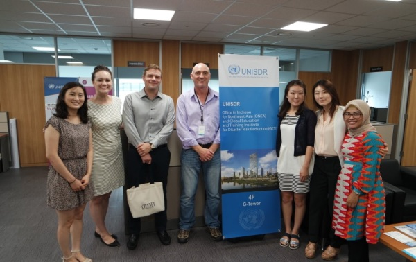 CityNet representatives at Songdo